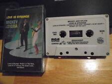 RARE OOP Mickey & Sylvia CASSETTE TAPE Love Is Strange r&b BAKER Robinson 1965 !
