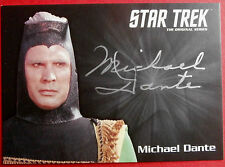 STAR TREK TOS 50th, MICHAEL DANTE as Maab, LIMITED EDITION Autograph Card