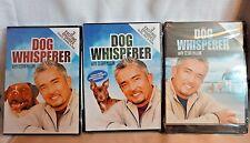 Lot of 3 Different Dog Whisperer DVD's with Cesar Millan DVD Dog Training