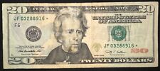Rare Twenty Dollar Bill Star Note 2009 Atlanta - $20 United States - Free Ship!