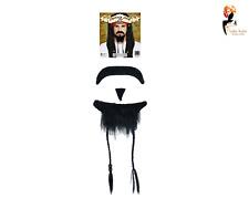 Beard Pirate + Moustache Set Men Boys Kids Fancy Dress Fake Hair Accessory Pack