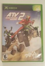 ATV: Quad Power Racing 2 (Microsoft Xbox, 2003) ACCLAIM AKA Fast Shipping