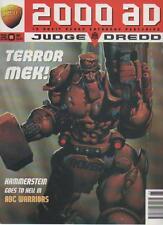 2000 AD MAGAZINE  10 NOVEMBER  PROG.965  TERROR MEK!     LS