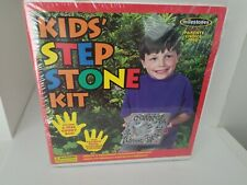 Brand New Milestones Mosaic Kid's Brand New Cement Stepping Stone Project Kit