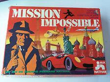 Mission Impossible jeu de societe NATHAN 1977