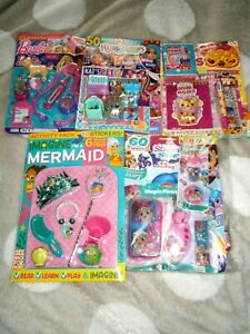 5 Girls Assorted  Comics With Gifts 2021 (new) Set 55