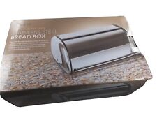 Home-it Stainless Steel Bread Box 16.5x10x8  Open Box (Minor Dents) NEW