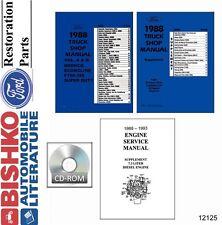 1988 Ford Truck Bronco Econoline Shop Service Repair Manual CD