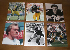 10 PITTSBURGH STEELERS DIFFERENT 8x10 PHOTOS - RUSSELL - FANECA - BETTIS - FUQUA