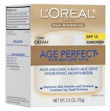 L'Oreal Age Perfect Mature Skin Day Cream Hydrating Moisturizer SPF15 2.5 oz