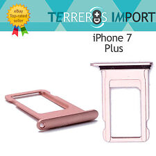 Bandeja Sim Portasim Tray para iPhone 7 Plus Rosa Dorado Rose Gold