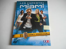 DVD  - LES EXPERTS : MIAMI N° 11 / SAISON 2 / EPISODES 17 à 20