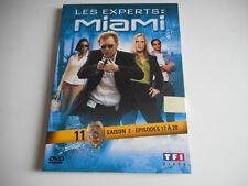 DVD  - LES EXPERTS : MIAMI N° 11 / SAISON 2 / EPISODES 17 à 20