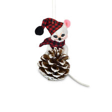 Annalee Dolls 2021 Christmas 3in Winter Woods Mouse Plush Ornament New with Box