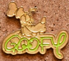 P2 Disney Pin Goofy Face With Name