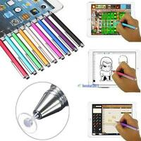Fine Point Round Thin Capacitive Stylus Pen for iPad 2/3/4/5/Air/Mini/iphone YY