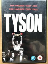 Tyson ~ 1995 HBO TV MOVIE IRON MIKE BOXER BOXING Biografía Drama GB DVD