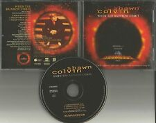 SHAWN COLVIN When the Rainbow Comes PROMO DJ CD single ARMAGEDDON Movie Art 1998