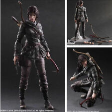 "Square Enix Play Arts Kai Rise Of The Tomb Raider Lara Croft 11"" Figuren In Box"