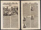 1497 Pavia Italia Italy Schedel Inkunabel Incunable woodcut Holzschnitt