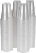 Bpa Free Cold Drinks Disposable Plastic Cups - 12oz Capacity (200-Pack)