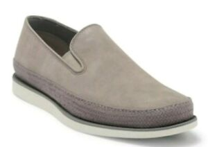 Sperry Gold Kittale Twin Gore Comfort Loafer 13 M Grey Leather $175 NEW