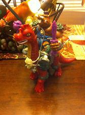 Vintage TMNT Cave Bebop Dinosaur Figure W ACCESSORIES Ninja Turtle 1994 Toy RARE