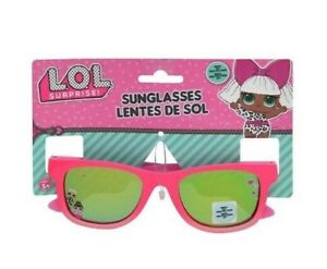 Lol Surprise Girls Sunglasses 100% UV Protection Kids Children Gift Toy 2+ Pink