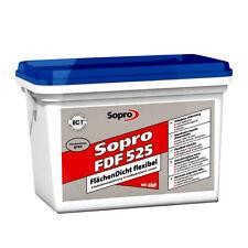 7,40€/KG Sopro Flächendicht 5 KG FDF 525 Fliesen Abdichtung Flüssig+folie+