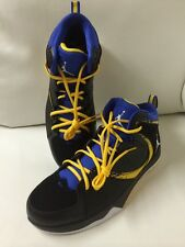 New Nike Air Jordan Phase 23 2 Blk/Wht/Blue/Yellow Leather Shoes  Size 11