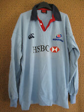 Maillot rugby Canterbury waratahs New South Wales HSBC Vintage jersey - L
