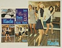 Taylor Swift LOT SET Unused KEDS Collaboration Sticker + Clear File Folder