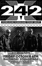 """FRONT 242 """"CIRCLING OVERLAND TOUR 2017"""" BALTIMORE CONCERT POSTER -Techno Music"""