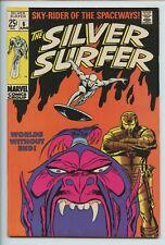 1969 MARVEL SILVER SURFER #6 WATCHER BACKUP STORY FN/VF S4