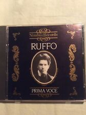 Titta Ruffo IMPORT CD Prima Voce 1990 Nimbus A&M 20 Greatest Hits ADD Best UK