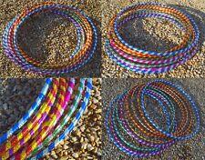 Adult Kids Multicolour Hula Hoop Hoops Fitness Activity Plastic Indoor Outdoor