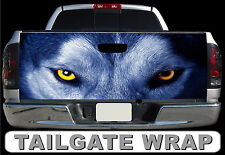 T299 WOLF Tailgate Wrap Decal Sticker Vinyl Graphic Bed Cover