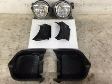 JDM NISSAN SILVIA S15 ROUND FOG LIGHTS SET WITH SIDE COVERS KOITO 114-63514 OEM