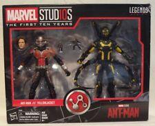 Marvel Legends ANT-MAN YELLOWJACKET MCU 10th Anniversary Studios 10 SEALED NIB