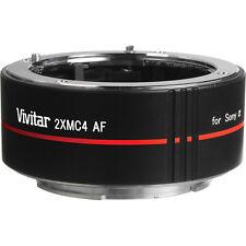 2X Lens TeleConverter Doubler for SONY ALPHA A100 A200 A100K A3800 A350 A55 A58