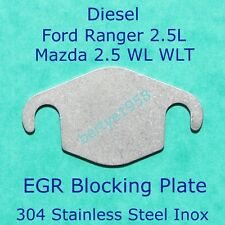 EGR Valve blanking plate 2.5 Ford Ranger MZR-CD engine (Mazda WL WLT) All Years