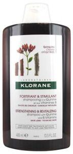 Klorane Strengthening & Revitalizing Shampoo 400ml Quinine & Vitamin-B