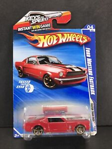 Hot Wheels Faster Than Ever 10 04/10 Ford Mustang Fastback 132/244 LD