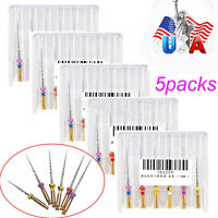 USA SHIP 5pack Dental Endo Endodontic Niti Files Engine SX-F3 25MM mixed engine