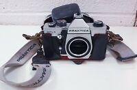 Vintage Praktica MTL 5 35mm SLR Film Camera Body Only with case & strap untested