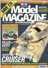 Tamiya Model Magazine  Issue 141 JUL 2007  F PLUS to VF, Tamiya Crusader 1/48