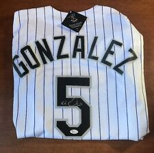 Carlos Gonzalez Signed Colorado Rockies Jersey JSA COA REAL MLB JERSEY WITH TAGS