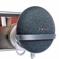 Plug Mount for Google Home Mini, Wall Mount Bracket Holder Tiny Silver P3D-Lab®