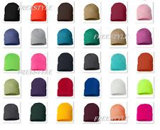 Sportsman- 12 Inch Knit Beanie Stocking Cap 100% acrylic Knit Winter Hat- SP12