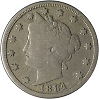 1884 Liberty V Nickel Great Deals From The Executive Coin Company